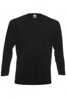 1042 Super Premium Pitkähihainen T-Paita musta