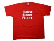 REMOVE BEFORE FLIGHT T-PAITA