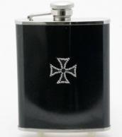 Terästaskumatti, musta, Maltanristi