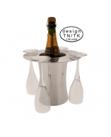 Cooler shampanjalaseilla