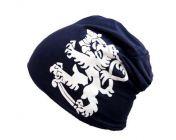 Leijona pipo, Navy sininen, Valkoinen  Leijona