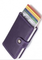 Secrid Miniwallet  väri purple