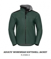 R-018M-0 Adults' Workwear Softshell Jacket