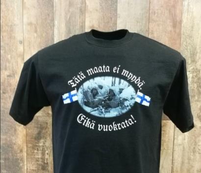 T-paita, Tätä maata ei myydä Eikä  Vuokrata