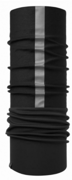 Windproof Reflective BUFF blac Windstopper&2-krs. Thermolite